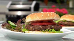 Hamburger – dania z grilla
