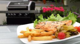 Łosoś – dania z grilla