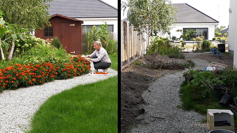 Przebudowa ogrodu